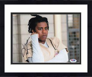 Uzo Aduba Signed Orange is the New Black 8x10 Photo Autograph PSA/DNA #Z92259