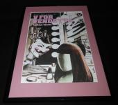 V For Vendetta Vol 1 DC Framed 11x17 Cover Photo Poster Display Official Repro