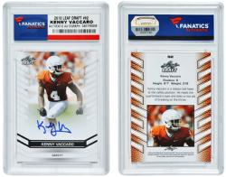 Kenny Vaccaro Texas Longhorns Autographed 2013 Leaf #92 Card