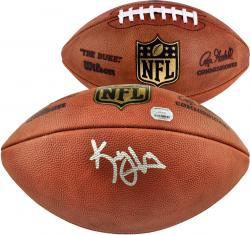 Wilson Kenny Vaccaro New Orleans Saints 2013 NFL Draft Autographed Duke Pro Football - Mounted Memories