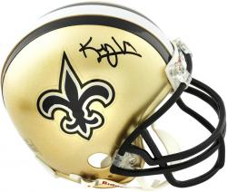 Riddell Kenny Vaccaro New Orleans Saints 2013 NFL Draft Autographed Mini Helmet - Mounted Memories