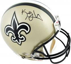 Kenny Vaccaro New Orleans Saints Autographed Riddell Replica Helmet - Mounted Memories