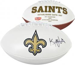 Kenny Vaccaro New Orleans Saints Autographed White Panel Football