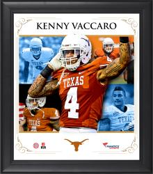 "Kenny Vaccaro Texas Longhorns Framed 15"" x 17"" Core Composite Photograph"