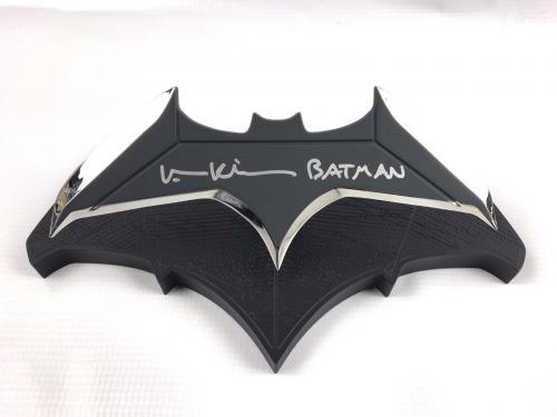 Val Kilmer Authentic Autograph Batman Batarang 1:1 Scale Replica Deluxe JSA 2