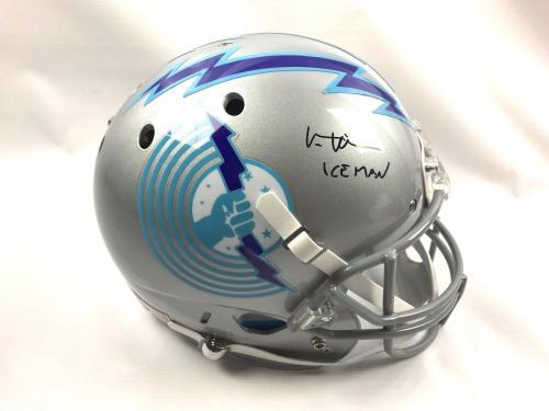 Val Kilmer Authentic Autograph TOP GUN Custom Full Size Helmet JSA Iceman