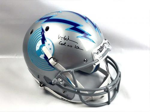 Val Kilmer Authentic Autograph TOP GUN Custom Full Size Helmet JSA Iceman Signed