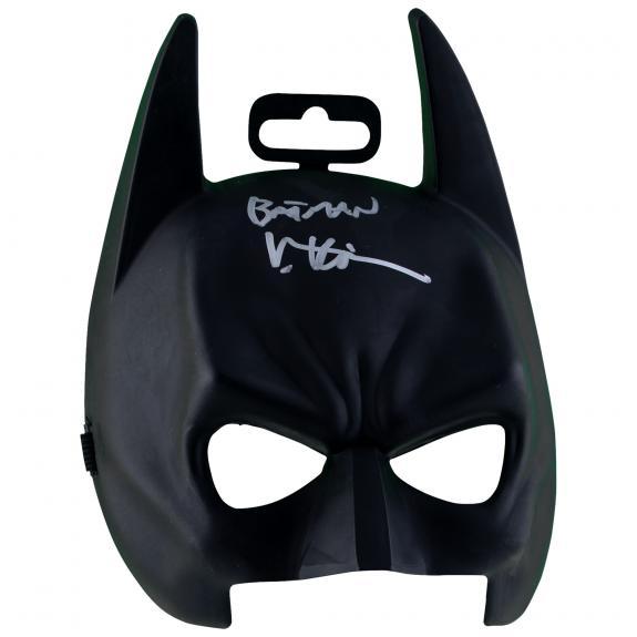 Val Kilmer Batman Autographed Mask with Batman Inscription - BAS