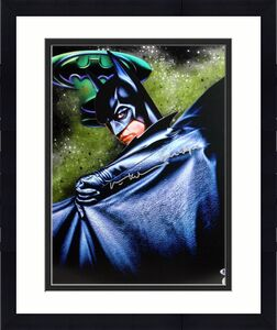 "Val Kilmer Batman Forever ""Bruce Wayne"" Signed 16X20 Photo BAS"