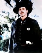 Val Kilmer Signed Autographed 16X20 Photo Tombstone Doc Holliday w/Badge COA