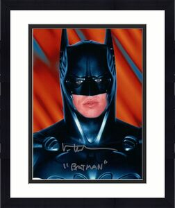Val Kilmer Signed Autographed 8X10 Photo Batman Forever Inscribed Silver Ink JSA