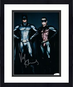 Val Kilmer Signed Autographed 8X10 Photo Batman Forever w/Robin Silver Ink JSA