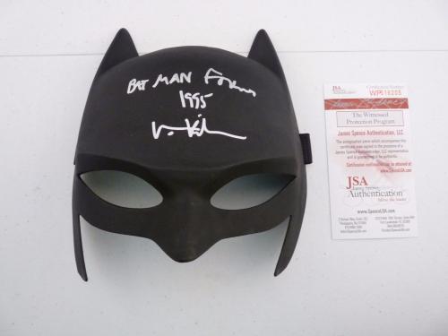 Val Kilmer Signed Autographed Batman Forever 1995 Mask JSA Certified #2