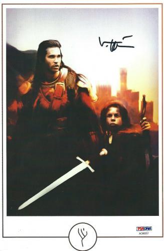 Val Kilmer Signed 'Willow' 6x10 Photo *Madmartigan PSA AC60557