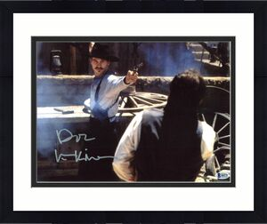 """Val Kilmer Tombstone """"Doc"""" Signed 11x14 Photo BAS Witnessed 8"""