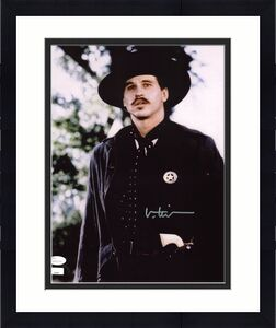 Val Kilmer Tombstone Signed 11X14 Photo Autographed JSA 2