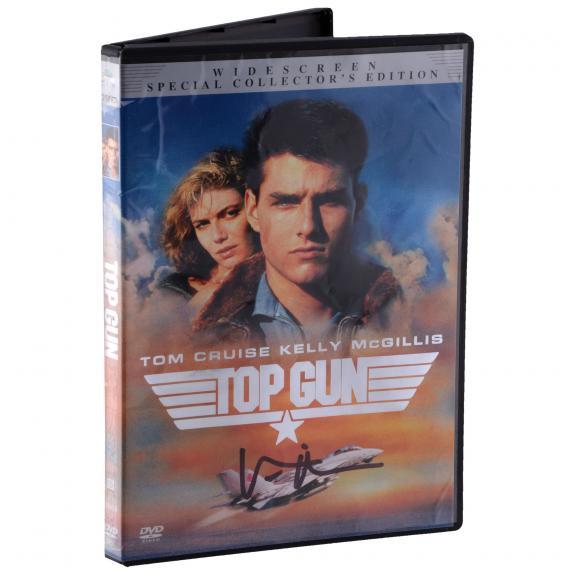 Val Kilmer Top Gun Autographed DVD - BAS