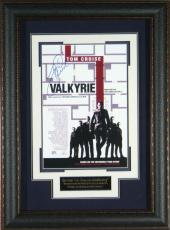 Valkyrie - Tom Cruise Autographed 11x17 Framed Poster