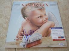 Van Halen 1984 Signed Autographed Eddie & Alex Record Album LP PSA Certified