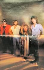 Van Halen (4) Alex, Eddie, Anthony & Roth  Signed 11x14 1982 Program BAS #A72292