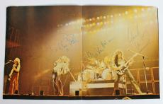 Van Halen (4) Alex, Eddie, Roth & Anthony Signed 1979 Tour Program BAS #A03676