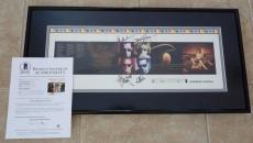 Van Halen All 4 Signed Autographed Framed CD Proof 16x32 Display BAS Certified