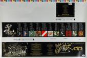Van Halen (Eddie, Alex, Michael Anthony) Signed CD Proof Print PSA/DNA #AB08115
