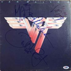 Van Halen II Autographed Signed Album LP Certified Authentic PSA/DNA COA AFTAL