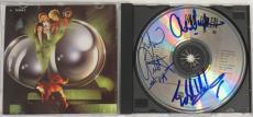 Van Halen Signed Authentic CD Eddie/Alex/Michael Anthony (PSA/DNA) #O01087