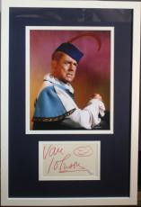 VAN JOHNSON d.2008 (Batman- The Minstrel) signed/framed photo display-JSA Auth