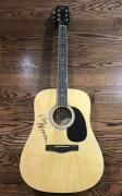 Van Morrison Signed Acoustic Guitar Astral Weeks Beckett Bas Coa #c89165