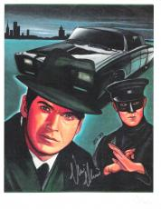 "VAN WILLIAMS as BRITT REID in ""GREEN HORNET"" Signed 8.5x11 Color Paper Thin"