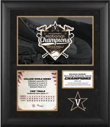 "Vanderbilt Commodores 2014 College World Series Champions Framed 20"" x 24"" Collage"