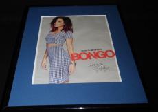 Vanessa Hudgens Facsimile Signed Framed 2016 Bongo Advertising Display