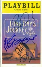 Vanessa Redgrave Brian Dennehy Philip Seymour Hoffman Robert Sean Leonard autographed Broadway Playbill Long Days Journey Night