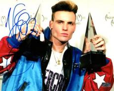 Vanilla Ice Rob Van Winkle Autographed 8x10 Photo