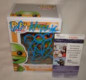 Vanilla Ice Rob Van Winkle Signed   Autographed Michelangelo Teenage Mutant Ninja Turtles Funko Pop Toy Doll Figurine - JSA
