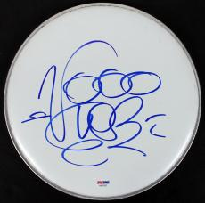 Vanilla Ice Signed 10 Inch Drumhead Autographed PSA/DNA #AA82203