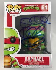 Vanilla Ice TMNT Raphael Ninja Turtles Signed Funko Pop Figure PSA/DNA COA (B)