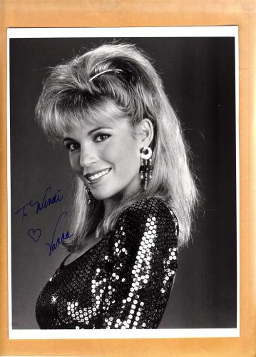 Autographed Vanna White Memorabilia Signed Photos Other Items