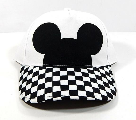 Vans x Disney Mickey Mouse Checkerboard Court Side Hat Adjustable New With Tags