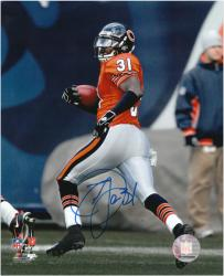Nathan Vasher Signed Picture - 108Yd Touchdown Return 8x10 Mounted Memories