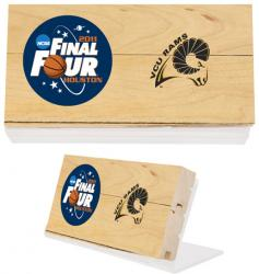 VCU 2011 Final Four Game Used Floorwith 3 x 5 Stand
