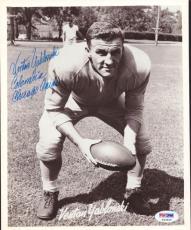 Venton Yablonski Autographed Signed 8x10 Photo Chicago Cardinals PSA/DNA #S43626
