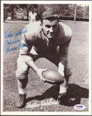 Venton Yablonski Autographed Signed 8x10 Photo Chicago Cardinals PSA/DNA #S43627