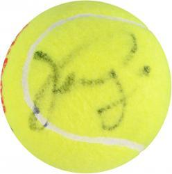 Venus & Serena Williams Dual Autographed US Open Logo Tennis Ball