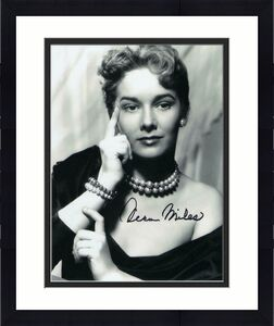 Vera Miles Signed Autograph 8x10 Photo - Young Beauty, Alfred Hitchcock's Psycho