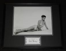 Vera Miles Signed Framed 16x20 Photo Poster Display Psycho