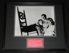 Vera Miles Signed Framed 16x20 Photo Poster Display Psycho B