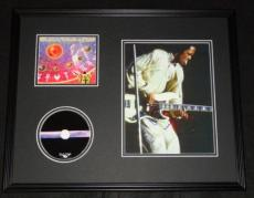Verdine White Signed Framed 16x20 Earth Wind & Fire CD & Photo Display